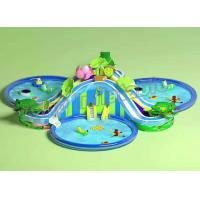Wholesale Funny Large Inflatable Water Parks , Children Floating Playgrounds EN71-2-3 Certificate from china suppliers