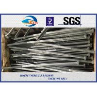 Wholesale Railway Structural bolt with nut Hot Dip Zinc with 24x900mm 45# material from china suppliers