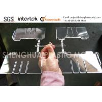 High Gloss Clear Plastic Component PS Divider for Display Product for sale