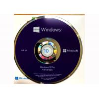 Wholesale CD DVD Simple Package Windows 10 Professionnel Version Complete 100% Useful from china suppliers