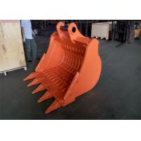 Wholesale Long Durability Hardox 450 Skeleton Rock Bucket For Hitachi ZX350 Excavator from china suppliers