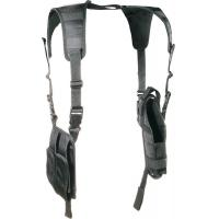 Wholesale Nylon Tactical Gun Holsters / Horizontal Shoulder Holster Mag Pouch from china suppliers