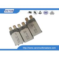 Wholesale VDE Bimetal Fuse N.C Thermal Fuse Color Code , Single Pole Thermal Type Breakers from china suppliers