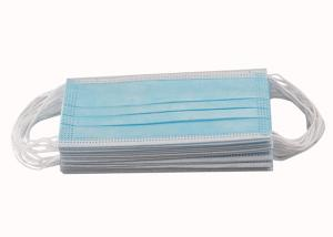 Wholesale CE FDA 3ply Non Woven Triple Layer Earloop Face Mask from china suppliers