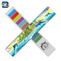 Wholesale 3d Or Flip Change Custom Printed Plastic Rulers For Kid Stationery from china suppliers