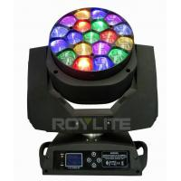19 X 15w Osram Bee Eye Moving Head Led Lights 4° - 60° Lens Rotate