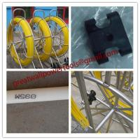 Quality HDPE duct rod,Reels for continuous duct rods,Pipe traker traceable midi duct rodder for sale