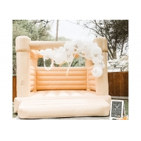 Wholesale Outdoor Wedding Party Girls Hot Pink Bouncy Castle Inflatable Jumping Castle from china suppliers