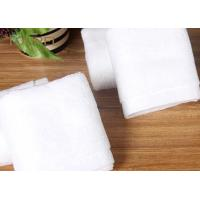 Wholesale Customized Hotel Face Towel White 100% Organic Cotton Bulk from china suppliers