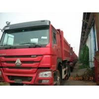Wholesale 336HP Heavy Duty Dump Truck LHD Hw76 Cab Red International Dumper Truck from china suppliers