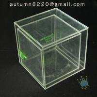 Wholesale BO (49) clear acrylic case with dividers from china suppliers