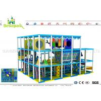 Wholesale Indoor Soft Baby Play Centre , Custom Made Indoor Jungle Gym For Toddlers from china suppliers