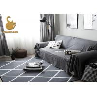 Wholesale 3D Printed soft Polyester flooring Carpet Underlay Felt anti slip dots from china suppliers
