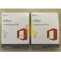 Wholesale Microsoft office 2016 OEM 64 Bit DVD Retail  / PKC Online Activation Guarantee from china suppliers