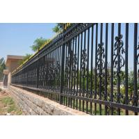 Wholesale 2400mm (W)*1800mm (H) home & garden  decorative steel fence/ iron fence/ fence from china suppliers