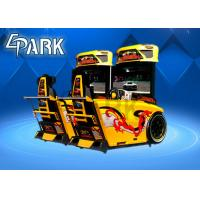 China 1 Player Racing Driving Simulator Games / Speed Car Racing Machine on sale