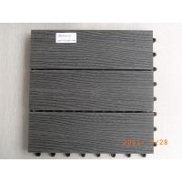 China WPC decking tiles on sale