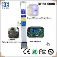 Wholesale Ultrasonic  Height and weight scale with Blood Pressure ,Heart rate and bluetooth from china suppliers