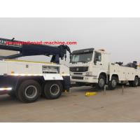 Wholesale SINOTRUK HOWO7 10 Tires 50T Road Wrecker Tow Truck / Recovery Truck / 6x4 Tow Truck EuroII 371hp from china suppliers