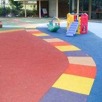 China CEC Rubber Playground Mats on sale