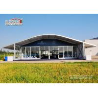 Wholesale Luxury Outdoor Event Tents 1500 People , Arcum Glass Wall Tent from china suppliers