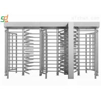 Wholesale Single Side Automatic Full Height Turnstiles High Security Rust-proof Barrier from china suppliers