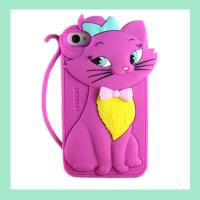 fashion rabbit silicone iphone case ,silicone covers for iphone4/4s/5/5s