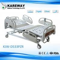 Wholesale Luxurious Plastic Guard Rails Electric Care Bed Five Functions with Central Brake For ICU Room from china suppliers