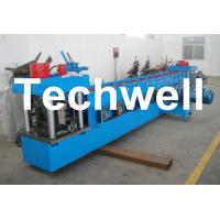 Wholesale U Channel Roll Forming Machine for Making U Purlin Profile with Pre-cutting & Pre-punching from china suppliers