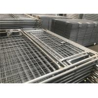 Wholesale Temp Fence Panels Construction Residential with Pedestrian Gates from china suppliers