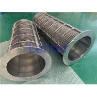China Cow Manure Separator Screw Press Filtration Separator Screens SS316L Material for sale