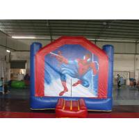 Wholesale Funny Spiderman Inflatable Bouncer / Kids Backyard Bouncers For Park from china suppliers