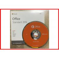 Buy cheap Genuine Office 2016 Standard  DVD+Key card Lifetime guarantee on stock from Wholesalers