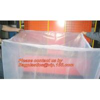 Wholesale Plastic Material and PE Plastic Type reusable pallet cover, opaque plastic pallet cover, LDPE Bin lliners Gaylord Liners from china suppliers