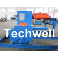 Wholesale High Speed 0 - 15m/min Uncoiling Speed 5 Ton Automatic Uncoiler / Decoiler Curving Machine from china suppliers