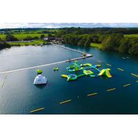 Wholesale Custom Forest Aqua Park Large Wibit Inflatable Water Obstacle Course For Lake from china suppliers