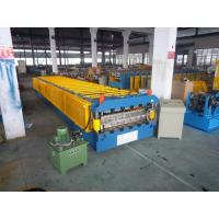 Quality 10 Tons Concrete Roof Tile Making Machine for Wall Board 15m/min for sale