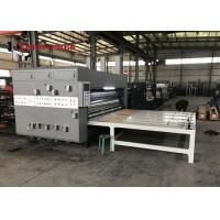 Wholesale High Performance Semi Auto Flexo Printer Slotter Machine For Corrugated Box from china suppliers