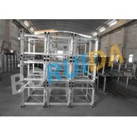 Wholesale VFC Control Rack and Pinion Building Site Hoist 2000kg Capacity with Mast Hot-dip Galvanized from china suppliers