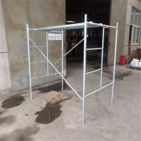 Mobile Platform Steel H Frame Construction Scaffolding Safety Walk Through Style
