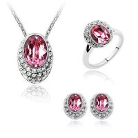Wholesale Ruby Silver Ladies Jewelry Sets from china suppliers