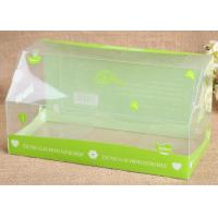 Wholesale Coming Cuboid Shape Custom PVC Boxes Cosmetic Transparent Towel Packing Box from china suppliers