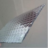 Wholesale Metalised Foil Single Air Bubble Wrap Heat Insulation 3-4mm Thickness from china suppliers