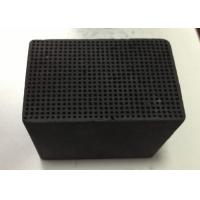 Wholesale Pollution Removal Honeycomb Activated Carbon 100X100X30mm Iodine Value 400-900 mg/G from china suppliers