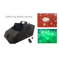 Wholesale 1000 Watt Fog Bubble Machine With 6*3w LED / Timer / Remote Control from china suppliers