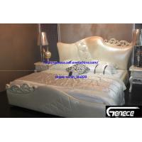 Wholesale New Design Girls Bedroom King Leather Bed from china suppliers