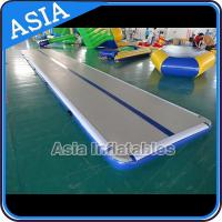 China Safety Airtight 20cm Gymnastic Inflatable Air Track For Tumbling for sale