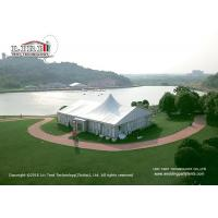 Wholesale 20 x 25m 500sqm Aluminum Outdoor Party Tents A Shape With Lining Curtain from china suppliers