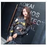 China 2019 Women Fashion New Latest Design High Quality genunie Leather Jacket for sale