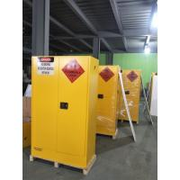 Wholesale Lockable Chemical Storage Cabinets , Flammable Liquid Containers Double Vents from china suppliers